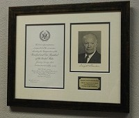 Dwight Eisenhower Inaugural Display