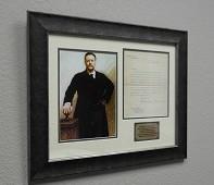Teddy Roosevelt 1905 Signed Letter