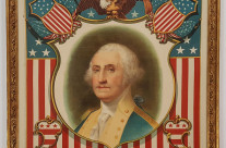 Stunning & Rare George Washington Framed Tapestry